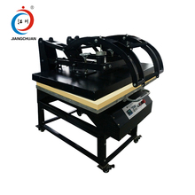 Auto open T-shirt heat press machine big size