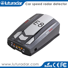 Car gps with russian language Voice anti speed camera e8 car radar detector automotive traffic radar sensor 16 band