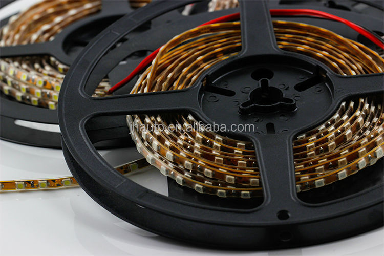 New 1210/3528 500 SMD Flexible Waterproof LED Strips, in Tube, 12V DC, 5 Colors Available, 5m/Roll