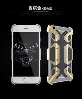rugged polymer metal mechanical armor phone case, for iphone 6s case