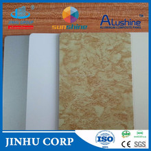 aluminum laminating composite cladding, shopping mall wall decoration, dibond