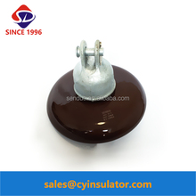 ANSI 52-4 Brown Glaze Cap and Pin Insulator