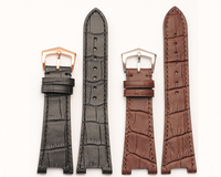 Interchangeable Leather Wrist Replacement Watch Bands Strap Men Women Ladies fit all watch