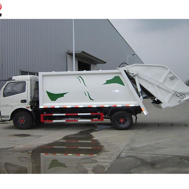 6000-8000 Liter compression garbage truck ,dustcart, waste collection truck for sale