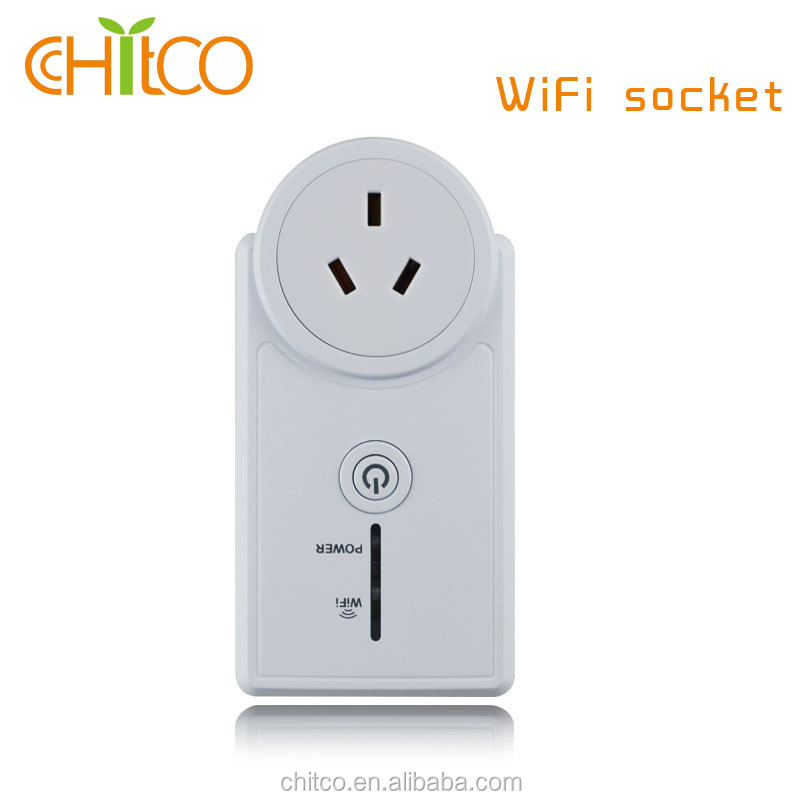 CHITCO 2G/3G/4G Wifi Intelligent APP remote control US/UK/EU/FR/CH/CN Plug WiFi Socket Adapter Smart Home Automation