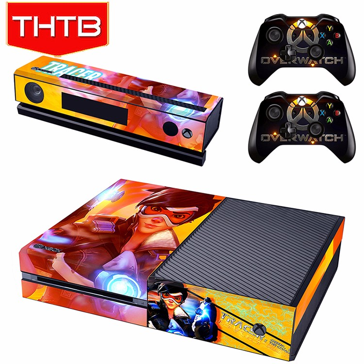 Custom-made vinyl decal sticker skin for xbox one 1 console * 2 controller wholesale