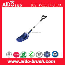 long aluminum handle snow shovel