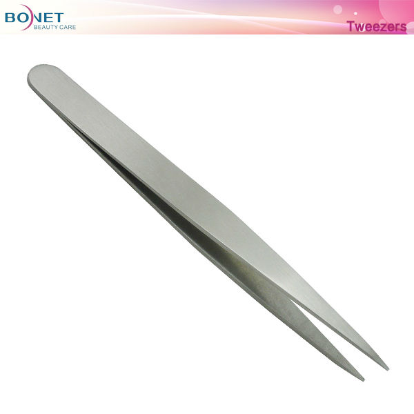 S19 Popular All Stainless Steel Series Lady Tweezers