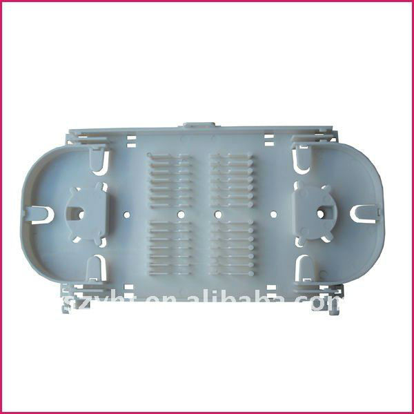Fiber Splice Tray 24 Count Standard Tray w/Fixed Rigid Slots FTTX cable splicing tray Cassette 24 fibres pour OST-E24