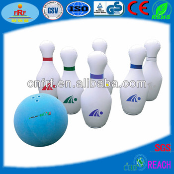 Inflatable Bowling Ball Game