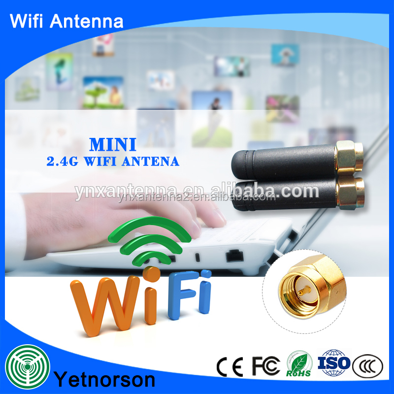 short antenna Indoor wifi antenna 2.4ghz antenna for mobile hotspot