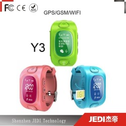 Kids cellphone smart watch wrist phone with sim card slot_HL984