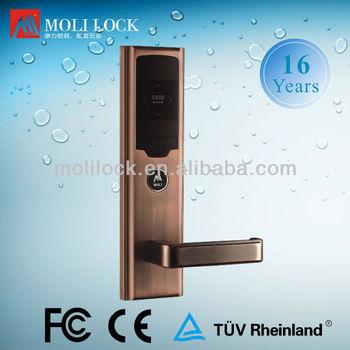 Key card door lock hotel door proximity sensor lock buy for 106 door cards