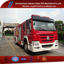 China Supplie 4*2 Euro4 Water And Foam Tanker Fire Engine Truck