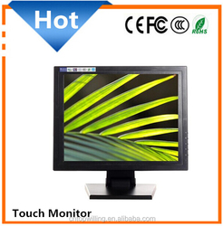 used for hospital/coffee shop/restaurant/bakery 15 inch POS Touch Screen Monitor