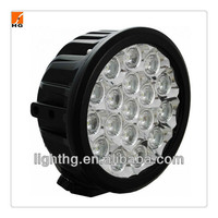 7inch round off road use ,black color,90w cree led driving lights HG-804-90