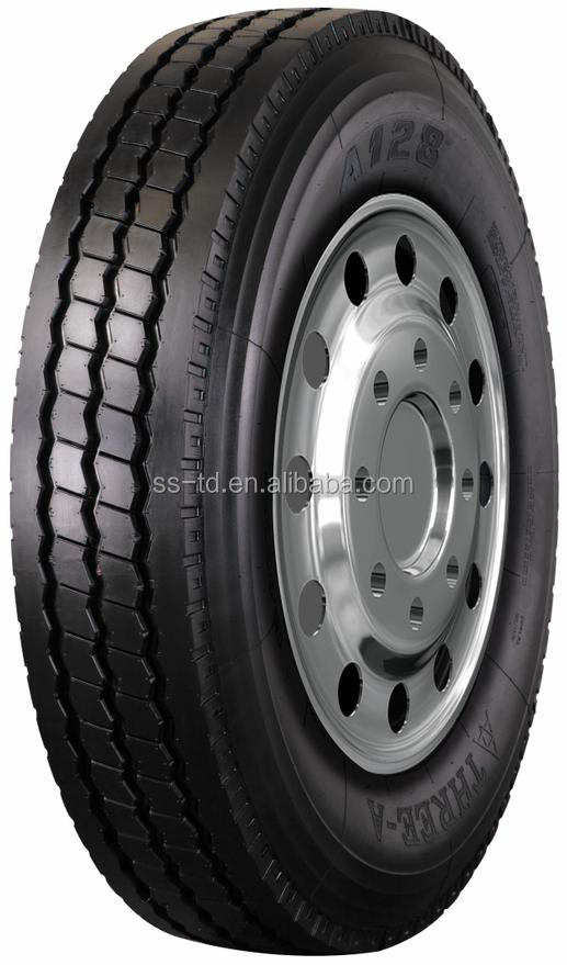 Three-a Brand Tube Tire in Truck with High performance