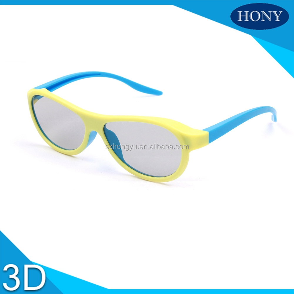 Cinema Use RealD degree 3D Glasses Circular Polarized