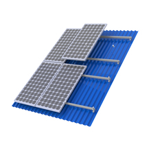 High quality 5KW 10KW 15KW 50KW Tin Roof Aluminum Mounting System Bracket