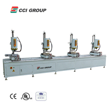 aluminum profile cnc multi head drilling machine