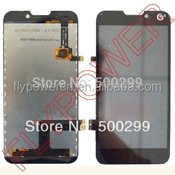 100% original V987 LCD Display+digitizer touch screen Spare Part for ZTE V987