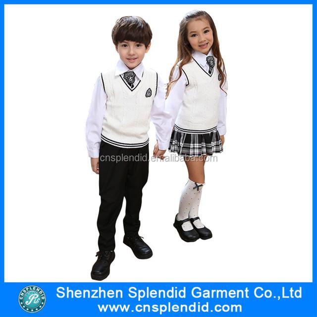 China wholesale beautiful malaysia kids school uniform factory