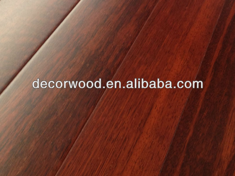 Solid wood Red Merbau solid wooden flooring indoor