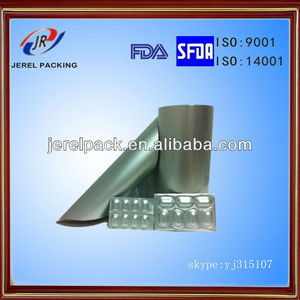 Pharmaceutical blister packaging Alu Alu Bottom foil packing