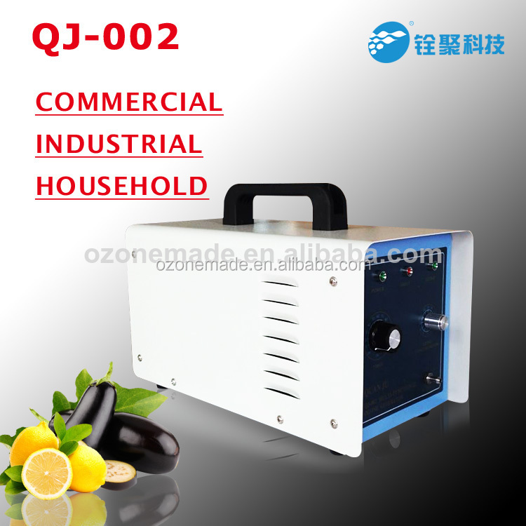 electric odor neutralizer with 0-2g/h portable ozone generator QJ-002