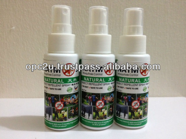 mosquitoes repellent spray NO DEET