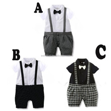 Summer cotton baby boy romper jumpsuit import baby clothes china