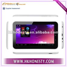 2012 new arrive 7inch android4.0 cheapest tab