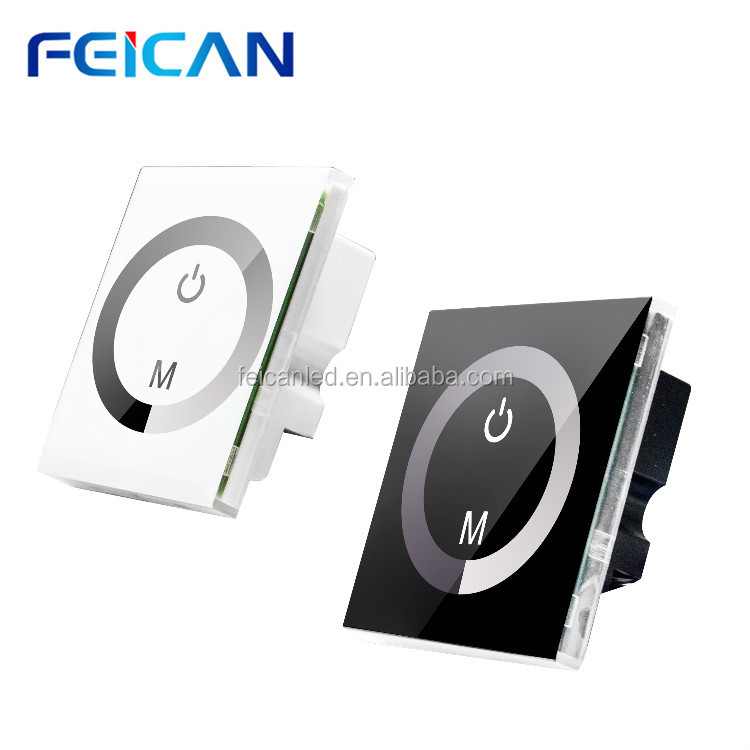 DC12-24V touch dimmer control for single color white color