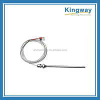 industrial probe resistance thermal pt100/pt1000 rtd sensor