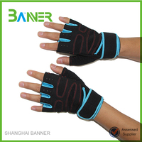 Outdoor sports training Racing riding neoprene cycling gloves half finger