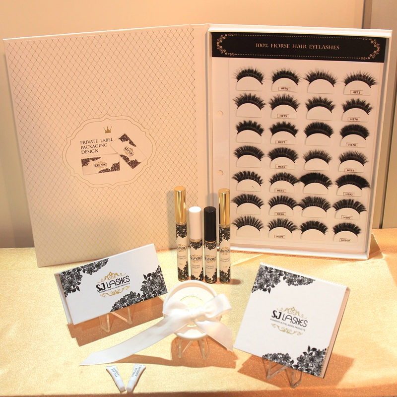 Double Pairs Magnetic boxes for False Mink Lashes