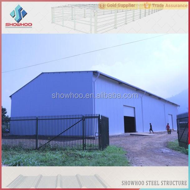Wellblech Garage: Kostengünstige Industriehalle Entwickelt Stahlkonstruktion