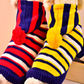 2018 Hot new products knitted pet sweater clothes hoodie of dog