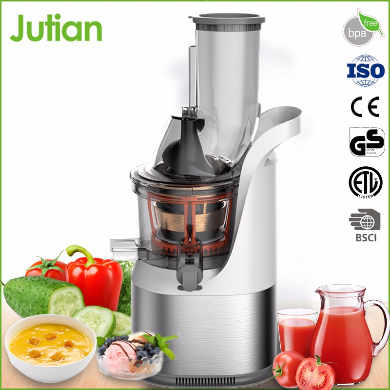 New Designed Korea Stainless Steel Single Gear Slow vegetable commercial industrial cold press juicer