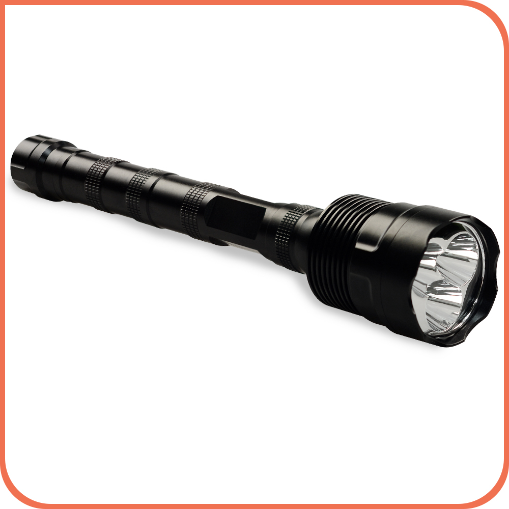 Sell hottest 1101 police torch 2500 Lumen 3 xml T6 Ip68 Led tactical flashlight for camping