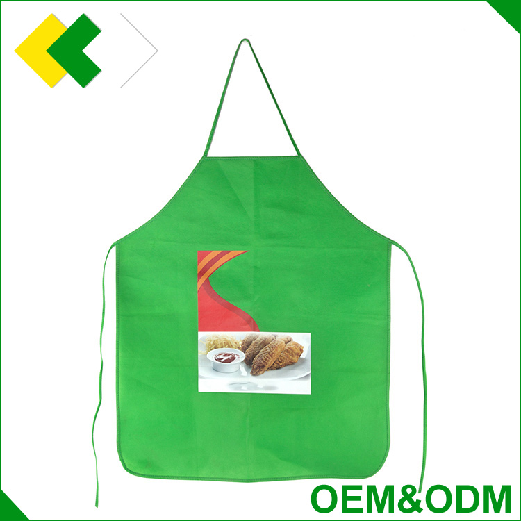 customized promotional bbq barber butcher chef beard cooking kitchen apron polyester non woven x-ray lead apron