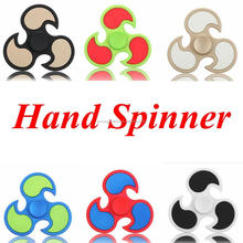 Dull Polish HandSpinner Fingertips Spiral Fingers Gyro Torqbar Hot Wheel Fidget Spinner Fidgets Toys Decompression Toys 6 Colors