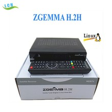 Zgemma Series Newest Zgemma H.2h Dvb-s2 + Hybrid Dvb-t2/c Satellite Receiver With Bcm7362 Enigma2 Linux