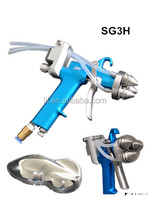 liquid image spray gun with three nozzles NO. SG3H for chrome painting use
