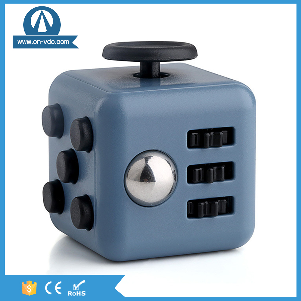 Stress Reliever Gifts Fidget Cube Relieves Anxiety and Stress Juguet For Adults Fidgetcube Desk Spin Toys