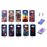 IMD process phone hull, multiple pattern soft case, TPU material back cover for Samsung J1