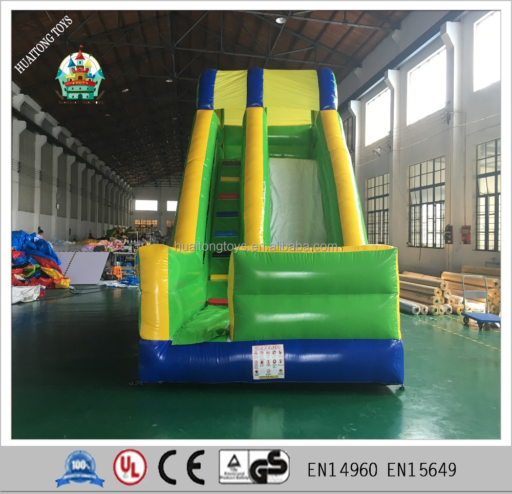Shanghai Huaitong cheap inflatable dry slide