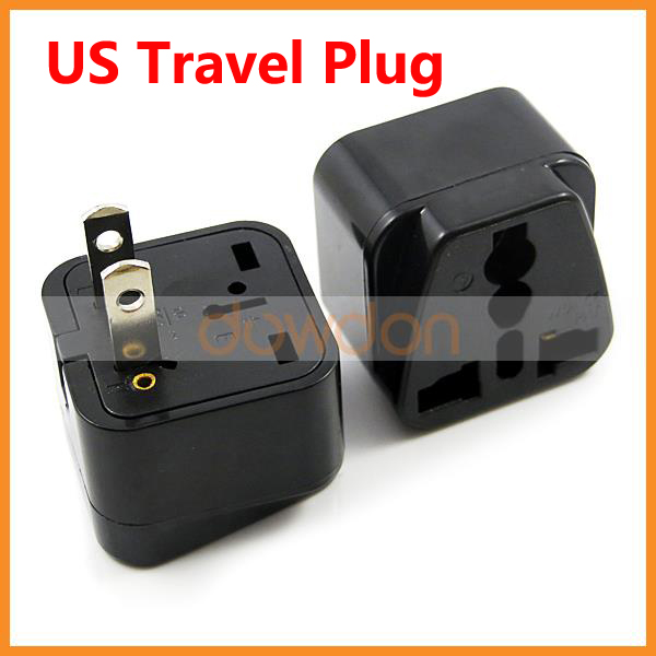 Multi Function 250V 10A 2 Pin USA Travel Plug American Standard Power Adapter Universal US Electric Connector Plug