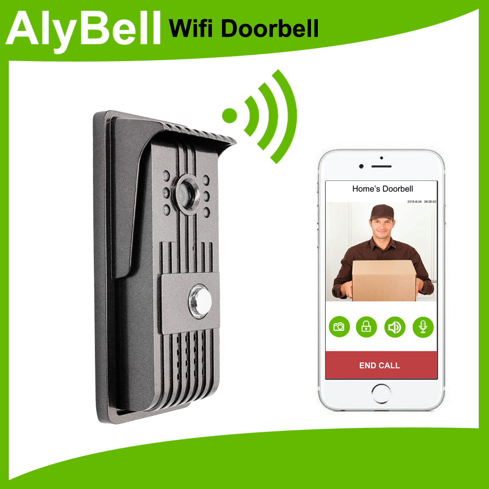AlyBell smartphone app control waterproof 3g 4g wifi video intercom