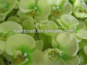 artificial silk green butterfly orchid plants for home decor